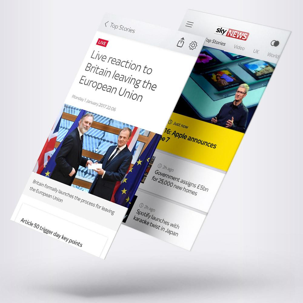 Scott Penhaligon, Digital Designer Manchester - Sky News App